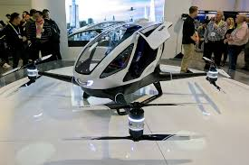 Driverless Air Taxi Makes Demonstration in Raleigh